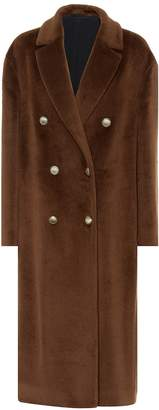 Brunello Cucinelli Alpaca double-breasted coat