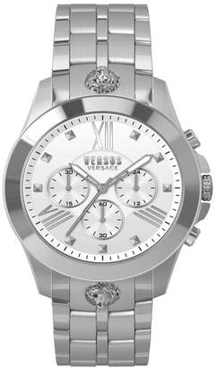 Versus Men's Chrono Lion White Watch, 44mm