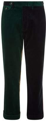 Polo Ralph Lauren Colour Block Corduroy Trousers