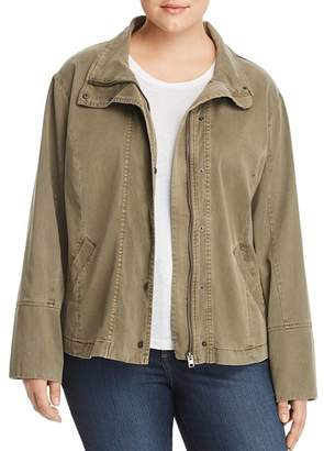 Lucky Brand Plus Vicky Utility Jacket