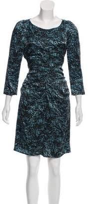 Marc Jacobs Long Sleeve Knee-Length Dress