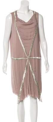 Nina Ricci Embellished Sleeveless Dress