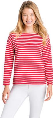 Vineyard Vines Long-Sleeve Striped Knit Top