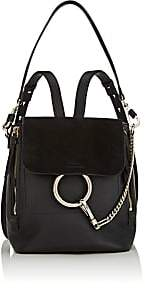 Chloé Women's Faye Small Leather Backpack - Black