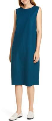 Eileen Fisher Wool Lantern Dress