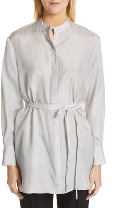 Co Stripe Silk Blouse