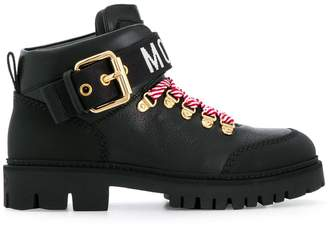 Moschino trekking ankle boots