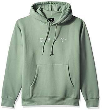 Obey Men's Nouvelle Hooded Pullover Sweatshirt