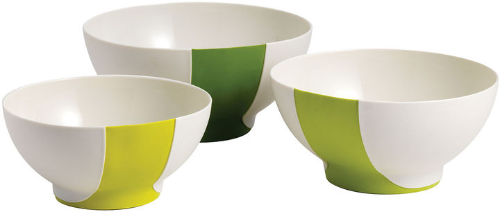 Chef'N CHEF N Sleekstor Pinch+Pour 3-pc. Mixing Bowl Set