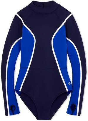 Tory SportTory Burch NEOPRENE LONG-SLEEVE SWIMSUIT
