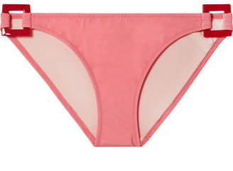 Solid & Striped Romy Embellished Bikini Briefs - Pink