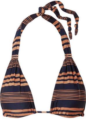 Vix Isabela Bia Striped Bikini Top