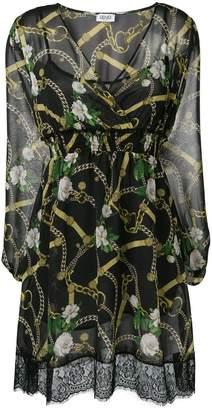 Liu Jo chain print mini dress
