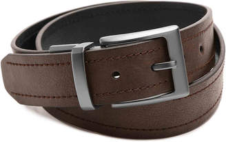 Columbia Double Stitched Reversible Leather Belt - Men's