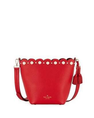 Kate Spade Hayes Street Pearl Vanessa Bucket Bag