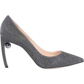 Nicholas Kirkwood Grey Glitter Heels