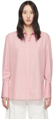 Alexander McQueen Pink Poplin Classic Shirt