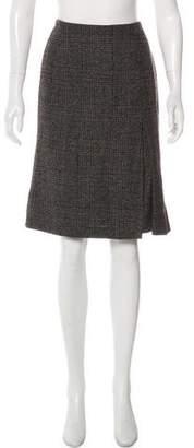Loro Piana Knee-Length Wool Skirt