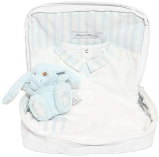 Tartine et Chocolat Cotton Jersey Romper, Toy & Bag