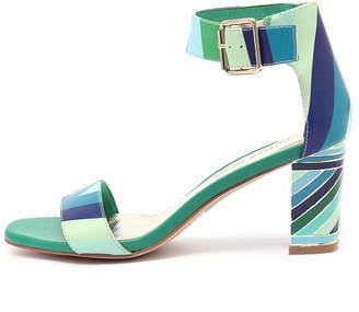 Django & Juliette New Nancie Ocean Multi Womens Shoes Casual Sandals Heeled