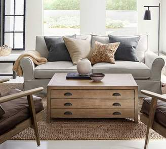 Roll Arm Leather Sofa Shopstyle