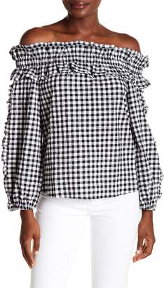 Rachel Roy Ava Ruffle Top