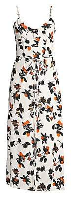 Derek Lam Women's Floral Camisole Dress