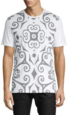 Versace Abstract Print T-Shirt