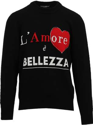 Dolce & Gabbana Crewneck Cashemere Sweater