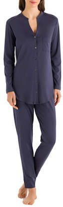 Hanro Pure Essence Long Sleeve Pajama