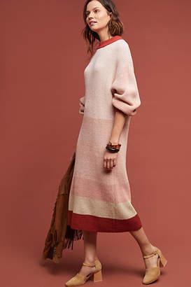 Callahan Boulay Striped Sweater Dress