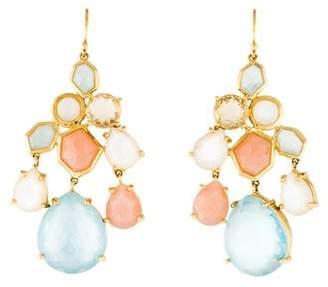 Ippolita 18K Mother of Pearl Rock Candy Drop Earrings