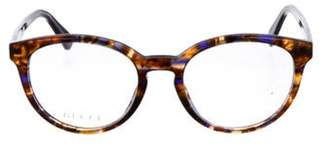 Gucci Round Marbled Eyeglasses multicolor Round Marbled Eyeglasses
