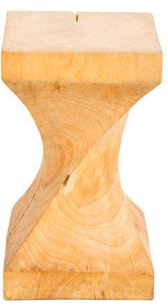 Distressed Wood Stool