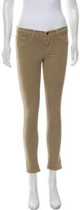 J Brand The Capri Skinny Leg JEans Khaki The Capri Skinny Leg JEans