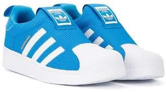 SuperStar (スーパースター) - Adidas Kids Superstar slip-on sneakers
