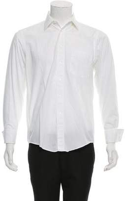 Christian Dior French Cuff Button-Up Shirt
