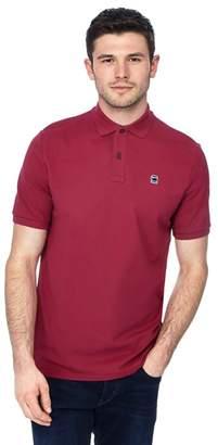 G Star G-Star - Dark Pink Logo Detail Polo Shirt