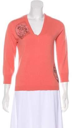 TSE Embellished Cashmere Sweater