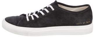 Common Projects Woman by Tournament Suede Sneakers