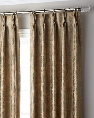 Parker 6009 Bellamy 3-Fold Pinch Pleat Blackout Curtain Panel, 132"