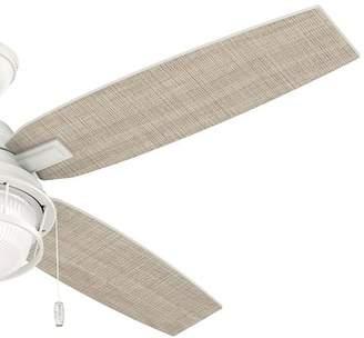 Hunter Fan 52 Ocala 4 Blade Outdoor Ceiling Fan with Light