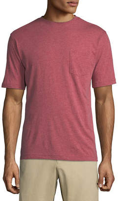 Peter Millar Crown Cotton-Modal Crewneck Pocket T-Shirt