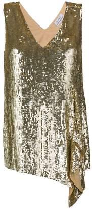 P.A.R.O.S.H. sequinned asymmetric top