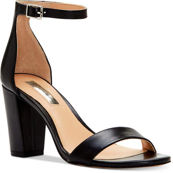 Inc International Concepts Kivah Block-Heel Dress Sandals, Created for Macy's Women's Shoes