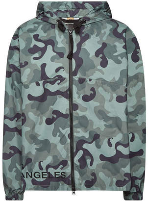 True Religion Camouflage Zipped Jacket with Hood