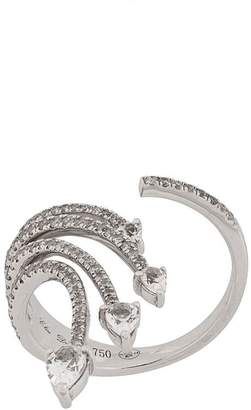 Elise Dray 18kt white gold and diamond ring