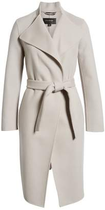 Mackage Leora Belted Long Wool Coat