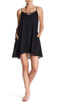 Mimi Chica Lace-Up Swing Dress $42 thestylecure.com