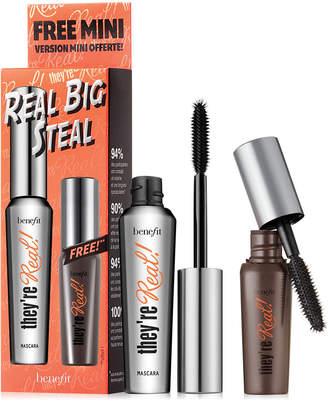 Benefit Cosmetics 2-Pc. Real Big Steal Mascara Set. A $36 Value!